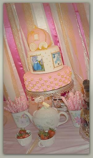 Cinderella Cake - Cake by Rabi