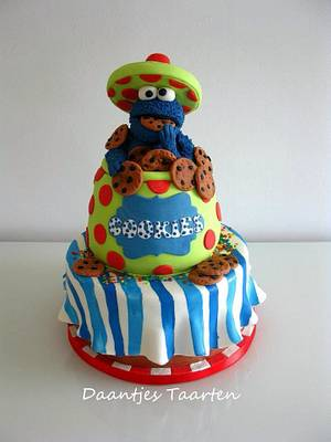 Cooooookies!! - Cake by Daantje