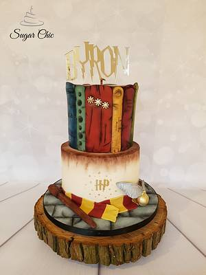 Harry Potter Cake - Cake by Sugar Chic