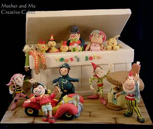 Toy Box Cake - Cake by Mother and Me Creative Cakes