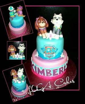 Paw patrol cake - Cake by Luga Cakes