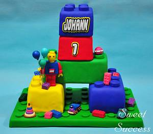 Lego Cake - Cake by Sweet Success