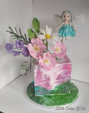 Fairy magic - the 1 cake collab - Cake by Little Cakes Of Art