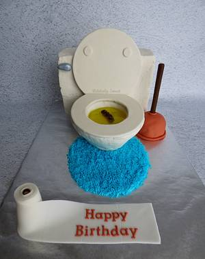 It's A Toilet Cake! - Cake by Michelle