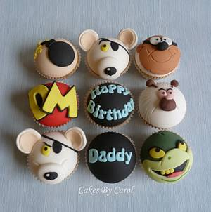 Danger Mouse - Cake by Carol