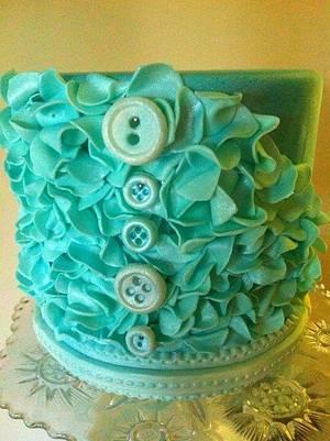 Petal buttons - Cake by JenStirk