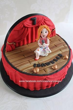 Stage show cake - Cake by Zoe's Fancy Cakes