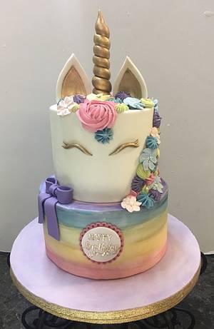 Unicorn Cake - Cake by Melanie Mangrum