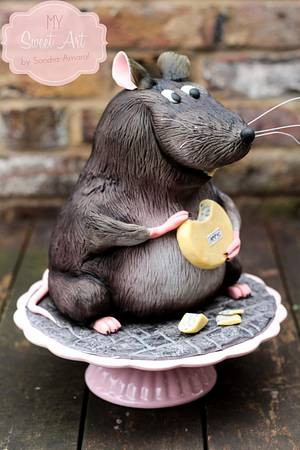 Fat Lab Mice - Cake by My Sweet Art
