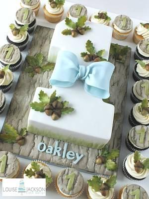Oakley's No.1 - Cake by Louise Jackson Cake Design