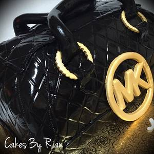 Michael Kors Bag Cake - Cake by Cakes By Rian