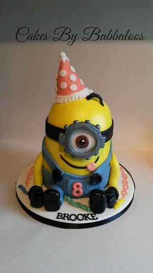 Miniontastic party cake! - Cake by Babbaloos Cakes