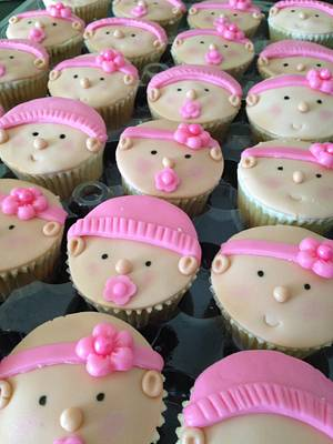 Baby shower cupcakes  - Cake by Sweet Confections by Karen