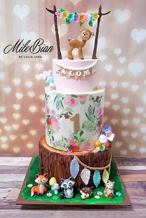 Woodland Beauty - Cake by MileBian