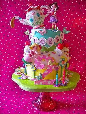 Phoebe is 2 - Cake by Lynette Horner