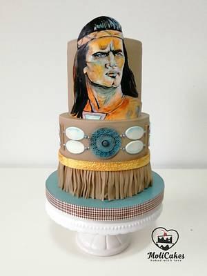 Winnetou  - Cake by MOLI Cakes
