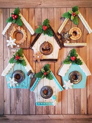 Christmas cookies  - Cake by DI ART