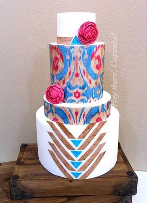 Utterly Engaged - Cake by Stevi Auble