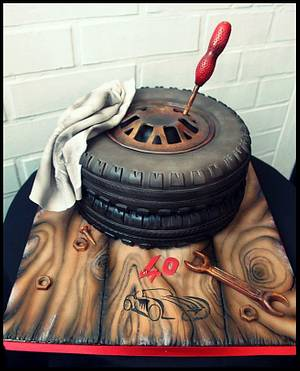 wheel cake - Cake by Lorita