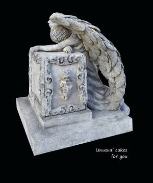 Desolate Angel for Frosted Frights  - Cake by Unusual cakes for you