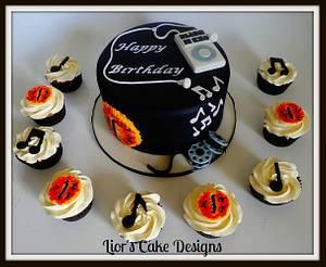 18th Birthday - Cake by Lior's Cake Designs