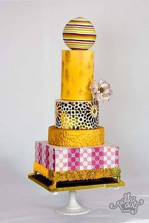 Wedding cake - Cake by pooja1612