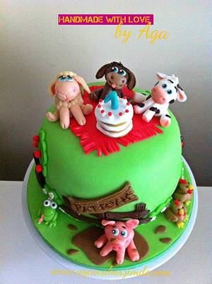 Farm cake;) - Cake by Aga Leśniak