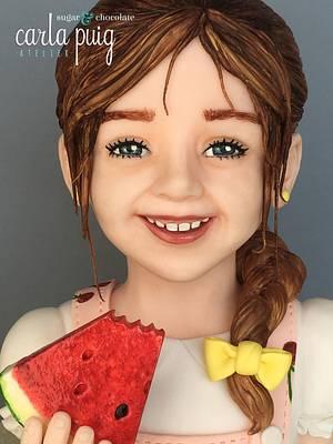 Sweet Summer - Watermelon - Cake by Carla Puig