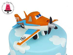 Planes 2 The Movie Dusty The Plane Cake topper! - Cake by The Icing Artist