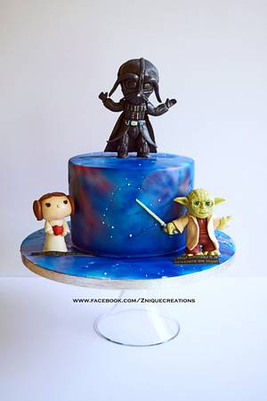 Starwars cake - Cake by Znique Creations