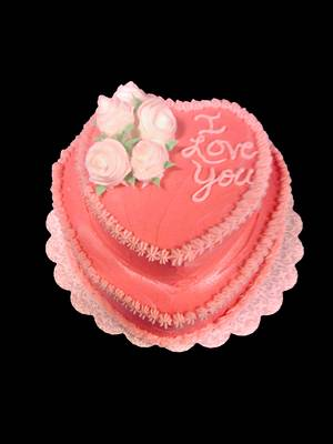 I Love You Cake - Cake by Chef Rose