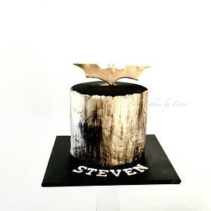 Batman cake.  - Cake by AlphacakesbyLoan