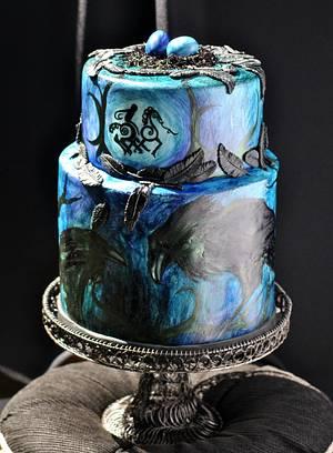 Odin's Messengers - Cake by Ilyomega Designs
