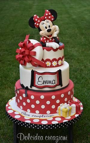 Sweet Minnie - Cake by Dolcidea creazioni