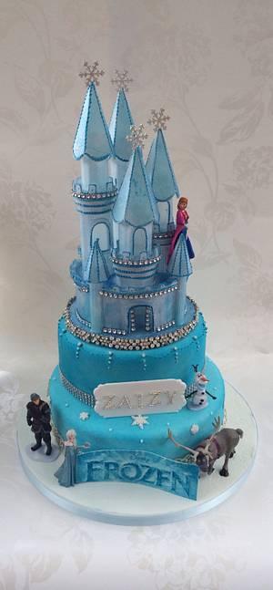 Frozen  - Cake by The lemon tree bakery