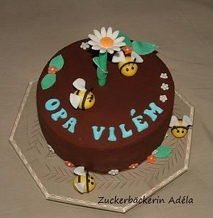 Cake for my father - happy birthday!  - Cake by Adéla