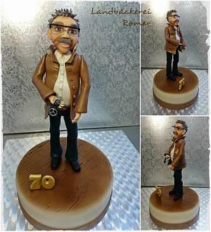 Uncle Kurt Figure - Cake by Marina Römer
