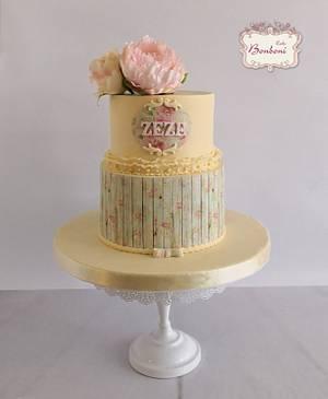 flowery cake - Cake by mona ghobara/Bonboni Cake