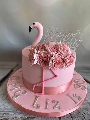 Pink Flamingo  - Cake by Roberta