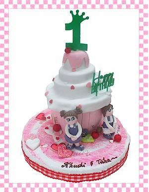 Double Celebration - Cake by Anu