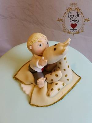 Charlie and his giraffe - Cake by Love it cakes