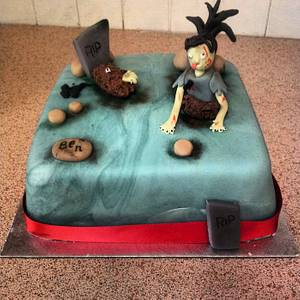 Zombie cake - Cake by ClairebearsCakes