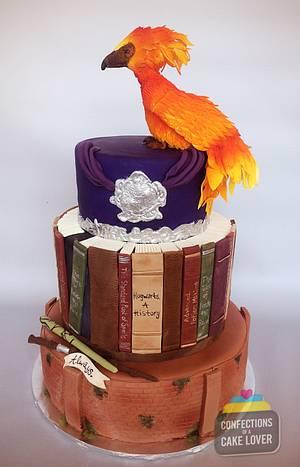 Harry Potter Wedding Cake - Cake by Confectscakelov