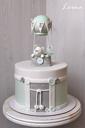 Christening cake.. - Cake by Lorna