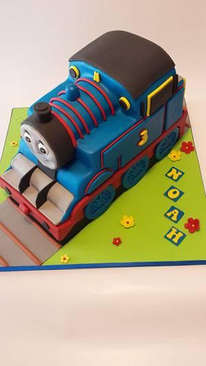THOMAS THE TRAIN - Cake by Fati