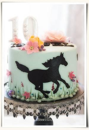 Birthday cake for a girl - Cake by Monika