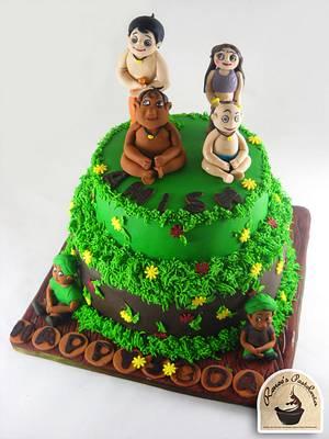CHOTA BHEEM CAKE - Cake by Purbaja B Chakraborty