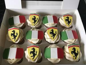 Italian stallion cupcakes  - Cake by Maria-Louise Cakes