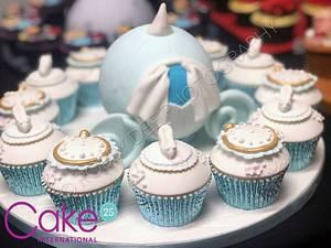 Cinderella Cupcakes - Cake international  - Cake by JojosCupcakeMadness
