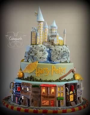 Harry Potter Cake - Cake by Heather McGrath